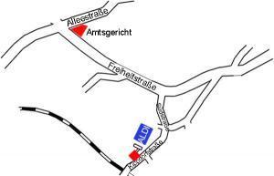 Bild - Anfahrtskizze